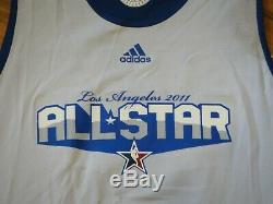 Dwyane Wade Game Used Worn 2011 All-star Practice Jersey Signed Psa/dna