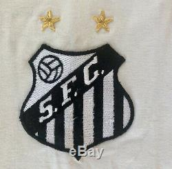 Early 1970s Pele Match Worn/ Game Used/Signed Santos Jersey LOA/COA