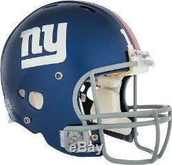 Eli Manning Signed Game Used New York Giants Helmet With Photo Match Steiner COA