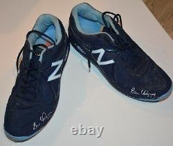 Evan Longoria Game Used and Autographed Shoes (Cleats)