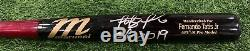 Fernando Tatis Jr San Diego Padres Game Used Bat 2019 Rookie Season Signed LOA