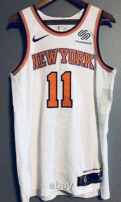 Frank Ntilikina New York Knicks 12/14/17 Signed Game Used Worn Jersey (STEINER)
