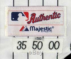 Frank Thomas Signed Authentic 2000 Chicago White Sox Game Used Jersey JSA COA