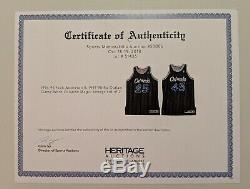 GAME USED WORN Champion BO OUTLAW Orlando Magic Jersey 50 NBA Hardaway Signed