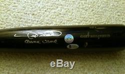 Gary Sheffield 2009 Mlb Game Used Signed Autographed Baseball Bat Psa/dna Loa