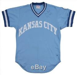 George Brett Kansas City Royals Game Used Worn Jersey 1982 LOA Signed