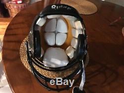 Greg Lloyd Autographed Pittsburgh Steelers Game Used Riddell Helmet