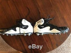 Greg Olsen Game Used Signed Cleats Carolina panthers Chicago Bears NFL Miami
