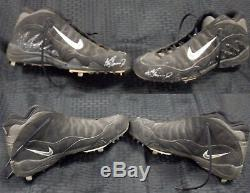 JSA LOA Ken Griffey Jr 1999 Game Used Autographed Signed Cleats Mariners ZDV 335