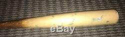 Jacob deGrom New York Mets Game Used Bat 2015 Excellent Use Signed MLB Auth