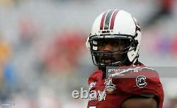 Jadaveon Clowney Game Used/Signed South Carolina Helmet 1/1/14 Capital One Bowl