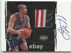 Jason Kidd 2003 04 UD Exquisite Collection Nets Game-Used Patch Auto 51/100