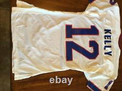 Jim Kelly 1995 Game Used/Worn Signed Jersey/Certificate of Authenticity