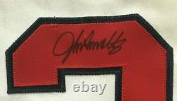 John Smoltz signed game used 2004 Atlanta Braves 18th save jersey Autograph COA