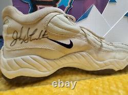 John Stockton Game Used & Signed Shoes