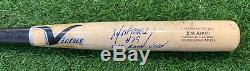Jose Abreu Chicago White Sox Game Used Bat 2015 Signed Uncracked PSA GU 10