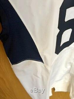 Karl Joseph Signed West Virginia University (WVU) Authentic Game Used Jersey
