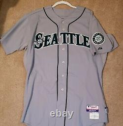 Ken Griffey Jr. Game Used Jersey Signed Auto Seattle Mariners 2010