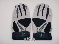 Ken Griffey Jr. Game Used Nike Batting Gloves & Signed Letter Of Authenticity