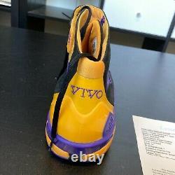 Kobe Bryant Game Used Signed Nike Huarache 2K4 Shoe Sneaker With JSA COA