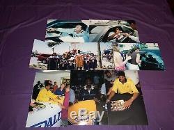 Kobe Bryant Lakers NBA 2001-02 Game Used Signed Adidas Locker Room Sandal