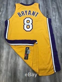 Kobe Bryant Nike 2000/01 Lakers Game Used Worn Jersey Signed Auto Pe 50+4 USA