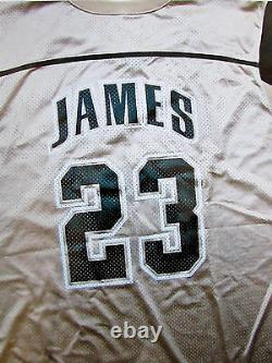 LeBron James Very Rare 2002-2003 Game-Used Signed High School Jersey with Certs