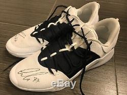 Luka Doncic Game worn Game Used shoes signed Autographed JSA LOA MFFL 1/1