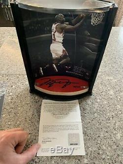MICHAEL JORDAN UDA Game Used Floor Bulls Autograph Signed 53/100 Upper Deck LE