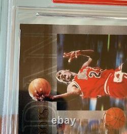 MICHAEL JORDAN Upper Deck UDA Signed GAME USED FLOOR AUTO PSA DNA #134/230 card