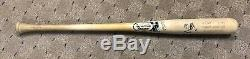 Manny Machado Rookie Signed Game Used Bat Orioles Dodgers
