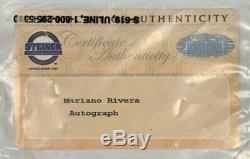 Mariano Rivera Ny Yankees Signed Game Used 2nd Base 10/3/15 Steiner Mlb & Cert