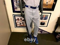 Matt Kemp Dodgers Signed Game Used Uniform Hat Cleats Steiner UDA with Mannequin
