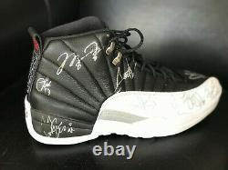Michael Jordan Game Used Team Signed Shoe