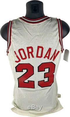 Michael Jordan Signed Autographed Game Used Worn 1988 Jersey MEARS 10 Beckett