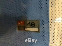 Michael Jordan UDA Upper Deck Signed Autograph UNC Jersey Game Used Floor Framed