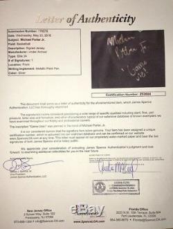 Michael Porter Jr Signed Game Used Under Armour Elite 24 Basketball Jersey Jsa