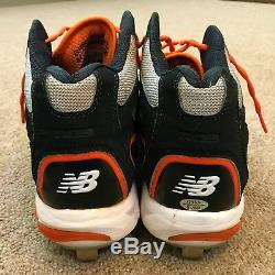 Miguel Cabrera Onyx PSA/DNA Guar Game Used Autographed Cleats 12 Tigers TC MVP