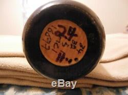 Miguel Cabrera Sam Autographed Game Used Bat 10/15/13 Date Boston Playoff Series