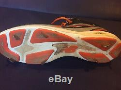 Miguel Cabrera Signed Cleat Inscribed Game Used 2012 Tigers Auto MLB Hologram