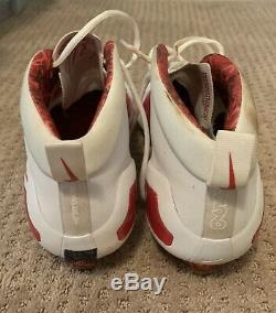 Mike Trout GAME USED 2017 CLEATS game worn SIGNED auto ANGELS spikes