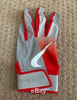 Mike Trout GAME USED 2019 BATTING GLOVE Single game worn SIGNED auto ANGELS