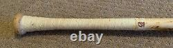 Mike Trout GAME USED 2019 MVP Season UNCRACKED BAT autograph SIGNED Angels