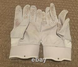 Mike Trout GAME USED 2020 PAIR BATTING GLOVES game worn SIGNED auto ANGELS