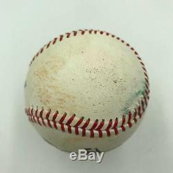Mike Trout Signed Autographed Game Used Official Major League Baseball JSA COA