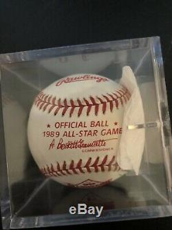 Nolan Ryan Autographed Baseball And Game Used From 1989 All Star Game