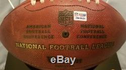 Patrick Mahomes Game Used NFL PSA Football Chiefs Auto Signed Rookie Season 2017