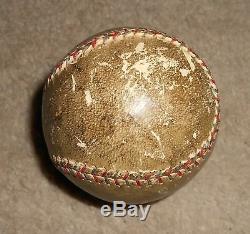 RARE Bill Klem Single Signed 1929 World Series Game Used Baseball JSA HOF Auto