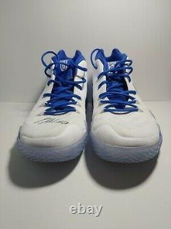 RARE Kyrie 4 Kentucky PE Size 16 Players Only Exclusive Signed Game Worn