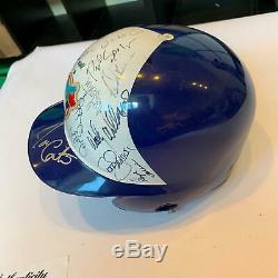 Rare 1994 Toronto Blue Jays Team Signed Game Used Helmet PSA DNA COA